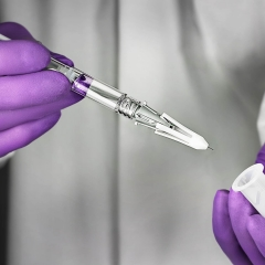 Syringe safety cap medical device photo